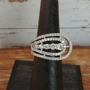 Jewelry - Sterling CZ Fashion Ring